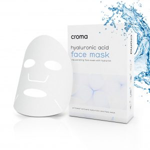 CROMA HYALURONIC ACID FACE MASK UNIDAD